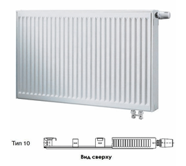 BUDERUS Радиатор стальной панельный VK-Profil 10/300/400, re