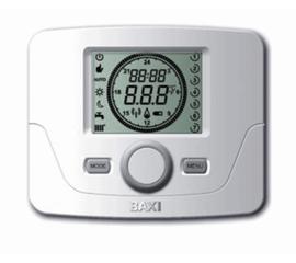 7104336-- BAXI Датчик комнатной температуры с програмированием для котлов Duo-tec+
