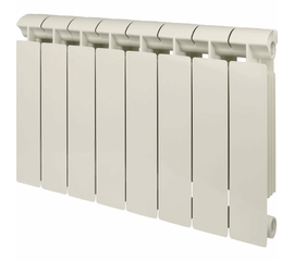 Радиатор биметаллический GLOBAL STYLE EXTRA 350 NEW/ кол-во секций 8