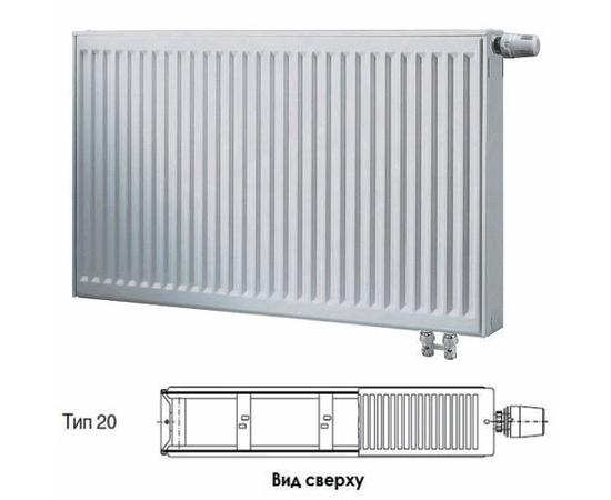 BUDERUS Радиатор стальной панельный VK-Profil 20/600/2000