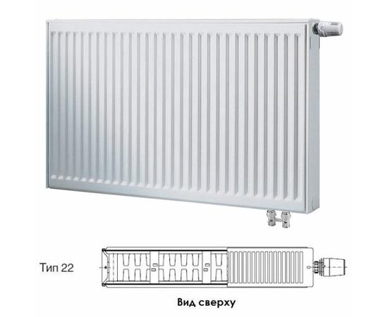 BUDERUS Радиатор стальной панельный VK-Profil 22/400/1200, re
