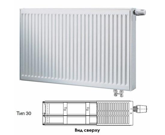 BUDERUS Радиатор стальной панельный VK-Profil 30/900/900, re