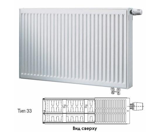 BUDERUS Радиатор стальной панельный VK-Profil 33/400/900, re