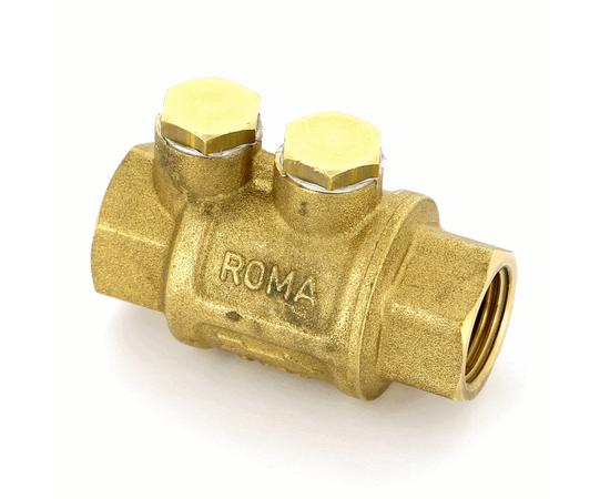 """Клапан обратный пружинный муфтовый с металлическим седлом ITAP """"ROMA"""" 1 1/2"""""""