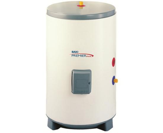 Бойлер (водонагреватель накопительный) BAXI Premier Plus 100, нержавеющая сталь, 100 л.